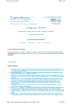 Senology.org - Newsletter
