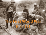 World War One Recap [12/6/2016] - Summit Hill School District 161