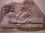 Contributions of Mesopotamia (Thu. 8/3)