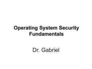 Operating System Security Fundamentals