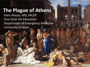 The Plague of Athens - Family Medicine Residency Program