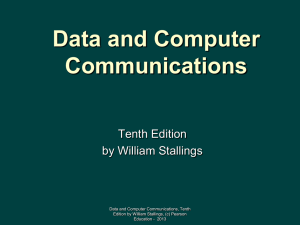 Chapter 14 - William Stallings, Data and Computer Communications