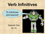 Verb Infinitives