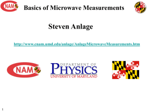 Basic Microwave Measurements