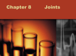 Chapter 8 Joints