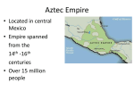 Aztec Empire - SeniorReligion