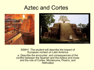 Aztec and Maya - Bibb County Schools