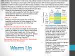 Warm Up 3.1.4 What are the chances of both events?