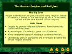 Roman Empire and Religion.pps