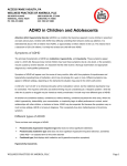 Symptoms of ADHD - Wellness Practices of America