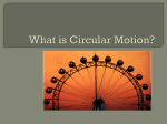 What is Circular Motion?