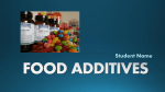 food additives - Leon County Schools