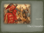 Crusades - Summary and King Richard powerpoint