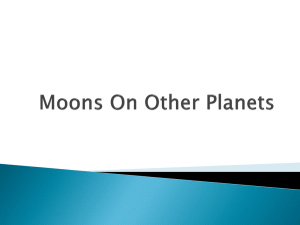 Moons On Other Planets