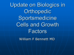 Update on Biologics in Orthopedic Sportsmedicine