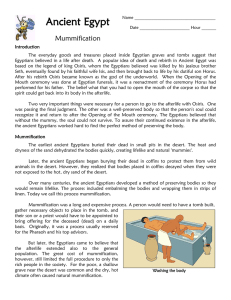 Mummification Reading ver1.0