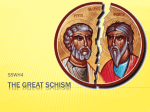 The Great Schism Power Point