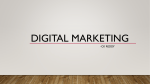 Digital Marketing - Catch Your Stuff