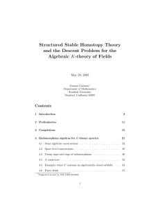 Structured Stable Homotopy Theory and the Descent Problem for
