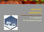 Operations of the Keck AO