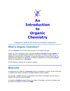 introduction-to-organic-chem - Westgate Mennonite Collegiate