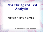 Data Mining and Text Analytics