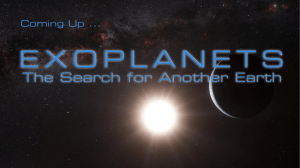 The Search for Another Earth The Search for Another Earth