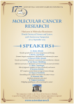 MOLECULAR CANCER RESEARCH