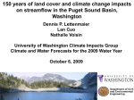Three century`s of land cover change impacts on streamflow in