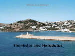 The Historians: Herodotus and Thucydides