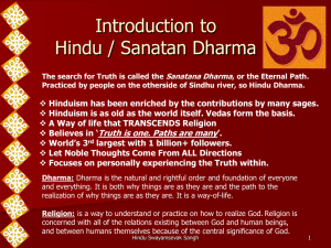 A Glimpse of India - Hindu Swayamsevak Sangh USA