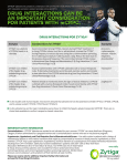 Drug Interactions Brochure - ZYTIGA® (abiraterone acetate)