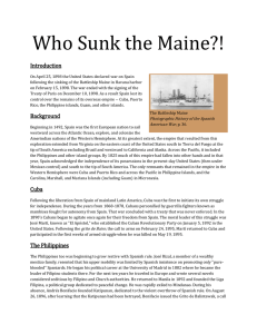 Who Sunk the Maine?!