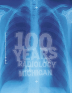 RADIOLOGY AT MICHIGAN - Medicine at Michigan
