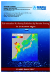 Eutrophication Monitoring Guidelines by Remote Sensing for the