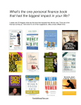 What`s the one personal finance book that had the biggest impact in