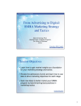 From Advertising to Digital: EMBA Marketing Strategy and Tactics