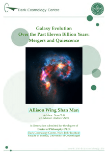 Galaxy Evolution Over the Past Eleven Billion Years: Mergers and