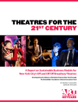 Theatres for the 21st Century - Alliance of Resident Theatres