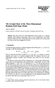 Ground State of the Three-Dimensional Random