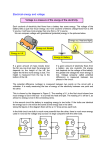 Electrical energy and voltage