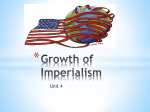 Unit 4 Growth of Imperialism