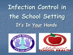 Infection Control in the School Setting