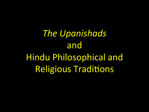 The Upanishads - Michael Sudduth