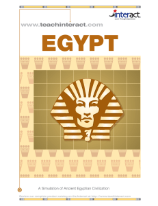 Egyptian Reading Packet