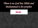 Islam: Submission to Allah