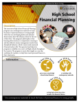High School Financial Planning