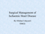 Surgical Management of Ischaemic Heart Disease