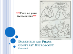 Darkfield and Phase Contrast Microscopy