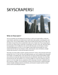 What are Skyscrapers?